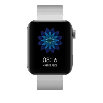 小米の腕時計の科学技術の銀の知能の腕時計の高清のカラースクリーンは小さい愛の学友の音声の操作を内蔵します。