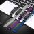 霹靂パイオニアミニブレスレット2/3/4/5代リストバンドnfcの交換バンド金属透過性のあるステンレス本革スマートスポーツブレスレットバンド銀色-ロック小米ブレスレット5リストバンド