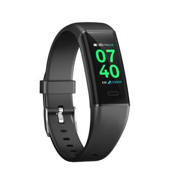 VOSSTR 心率血压血氧智能手环运动计步器男女 睡眠监测安卓iOS通用 深空黑